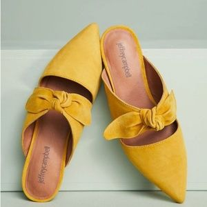 Bow mule from Anthropologie